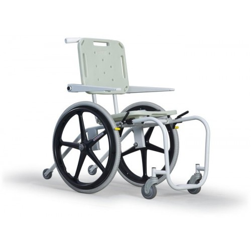 Mobile Aquatic Wheelchair - Stainless Steel