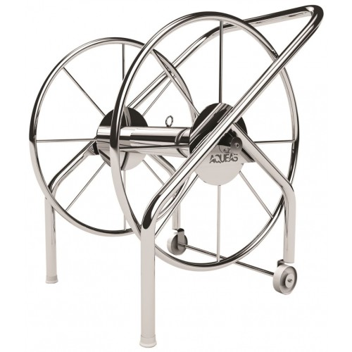 LANE ROPE MINI STORAGE REEL AQUEAS - STAINLESS STEEL