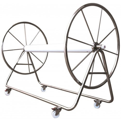 Lane Rope Storage Reel - Stainless Steel
