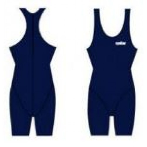 Women and Girls CRP - Zip Back Leg Suit - Navy