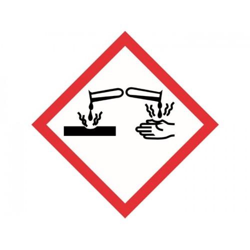 Hazardous Sign GHS - Corrosive